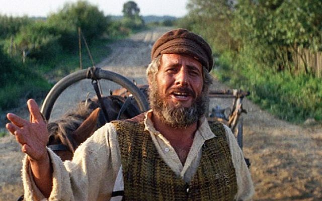 "Topol as Tevye in ""Fiddler on the Roof"""