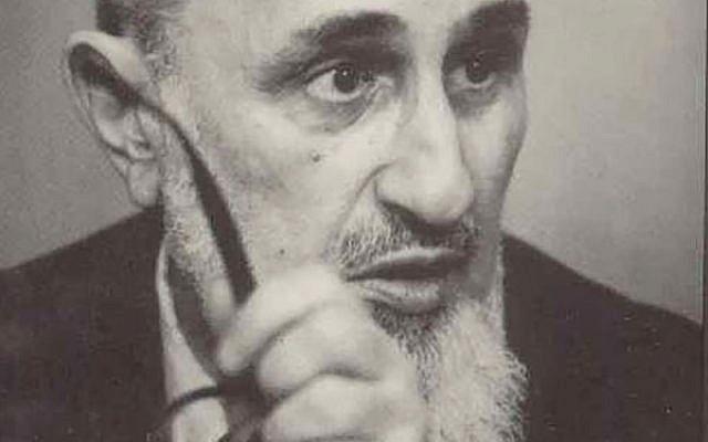 Rabbi Joseph Ber Soloveitchik, philosophical leader of Modern Orthodoxy blogs.yu.edu