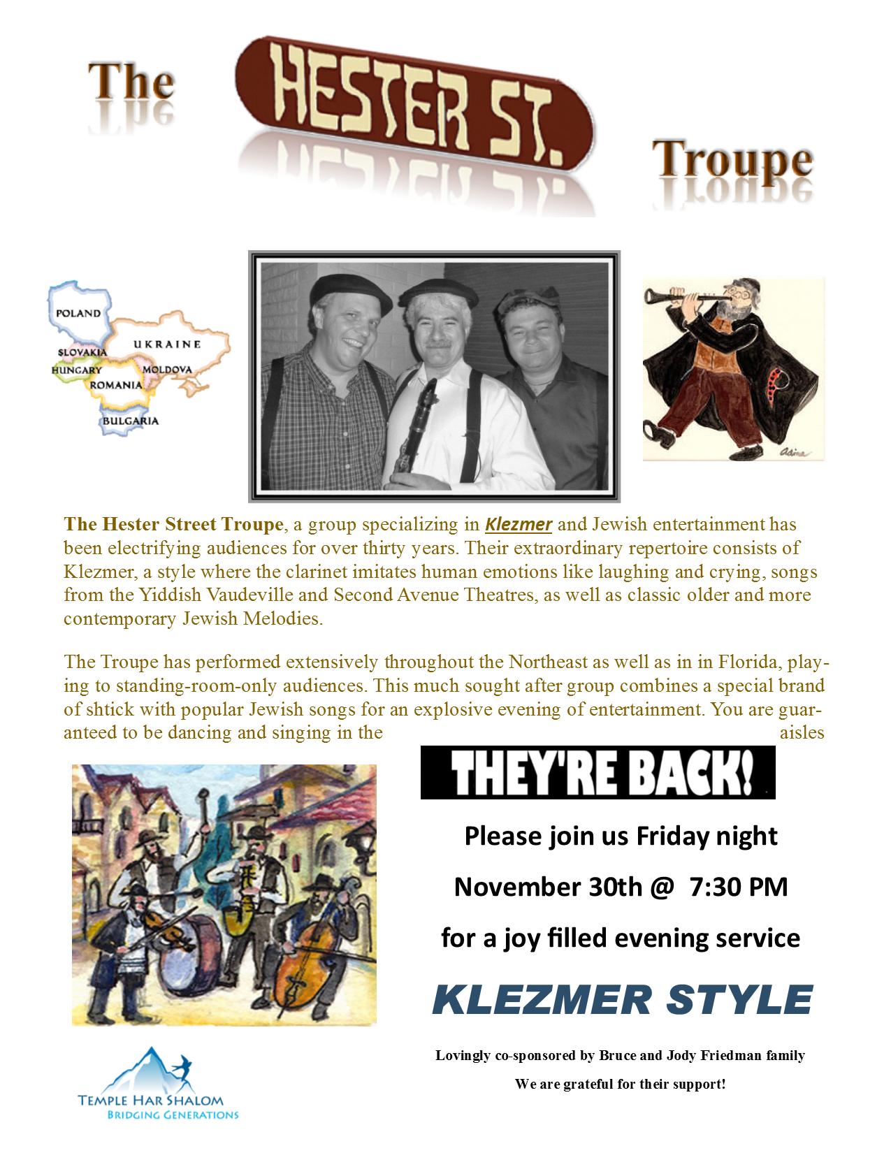 Klezmer-friday-night-flyer