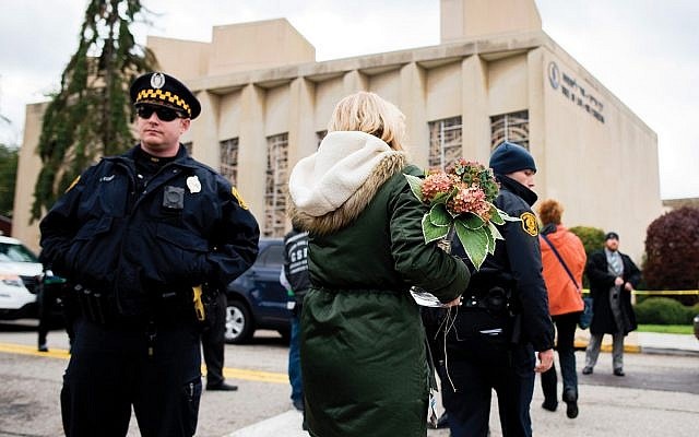 Tree of Life synagogue in Pittsburgh. Getty Images