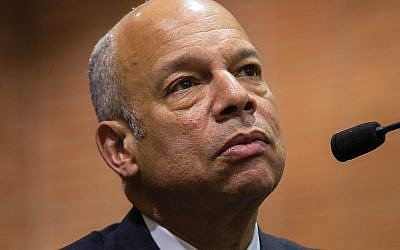 "Jeh Johnson, former national secretary of homeland security, said violence is fueled by ""the decline in civility from political leaders."" Photo by Tony Turner"