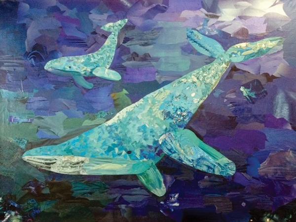 """Whales"" by Leina'ala Schwartz"
