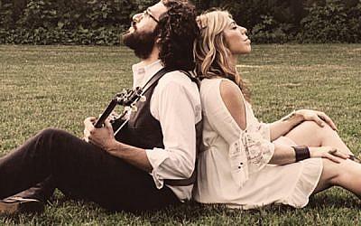 Doni Zasloff and Eric Lindberg, the husband-wife duo who created Nefesh Mountain.