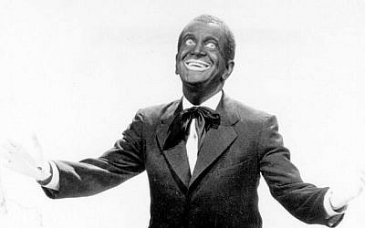 "Al Jolson in ""The Jazz Singer."" Getty Images"