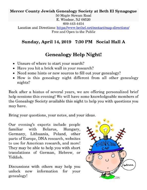 4.14.19-Genealogy-Help-NIte