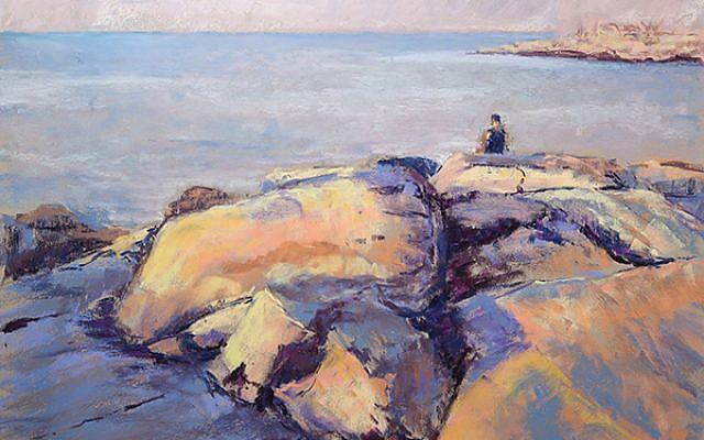 """Contemplating the Vastness"" by Anita Gladstone"