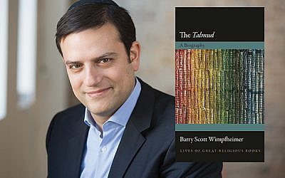 "Barry Scott Wimpfheimer said in his ""The Talmud: A Biography,"" he ""shifts attention away from the Talmud's ancient context into its reception history."""