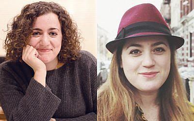 Shira Hanau, left, and Hannah Dreyfus won top awards from the state press association. (Hanau credit: Dassie Hirschfield / Dreyfus credit: Sam Reinstein)