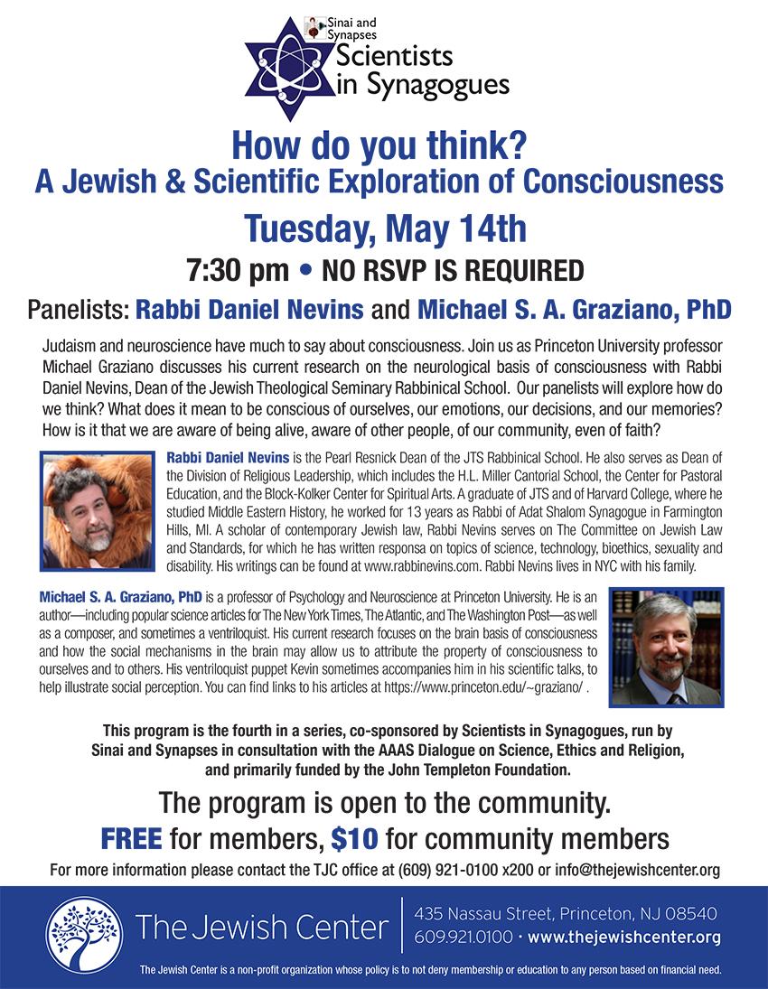TJC Flyer Judaism & Science 4