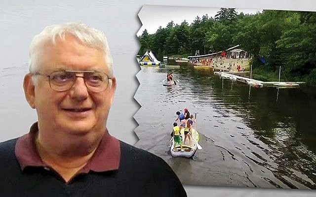 Former NJY Camps director Len Robinson. The camp network is trying to pick up the pieces after abuse allegations. (Photo illustration by Janice hwang)