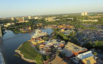 Orlando, Florida from above. Wikimedia Commons/ILA-boy