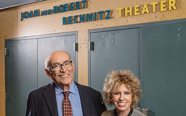 Robert and Joan Rechnitz, founders of the Two River Theater in Red Bank, are being honored at the company's 25th anniversary gala.  Photo courtesy Two River Theater