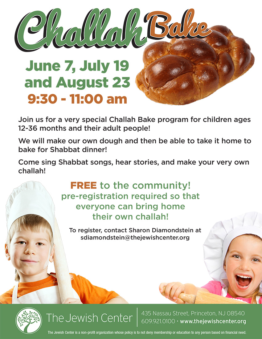 TJC Flyer Challah bake Summer