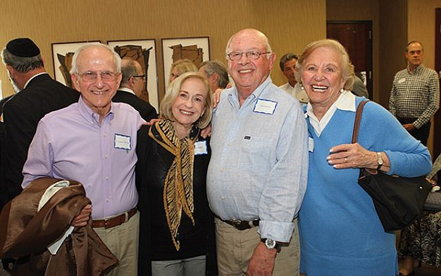Attendees at the Greater Trenton Jewish Center Project included, from left, Richard Perlman, Lois and Jack Lichstein, and Edith Gordon. Photos by Barry Korbman of Korbman & Company Photography