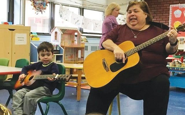 "Martha Mack started ""by accident"" as a music specialist at the nursery school of Congregation Neve Shalom. Photo courtesy Congregation Neve Shalom"