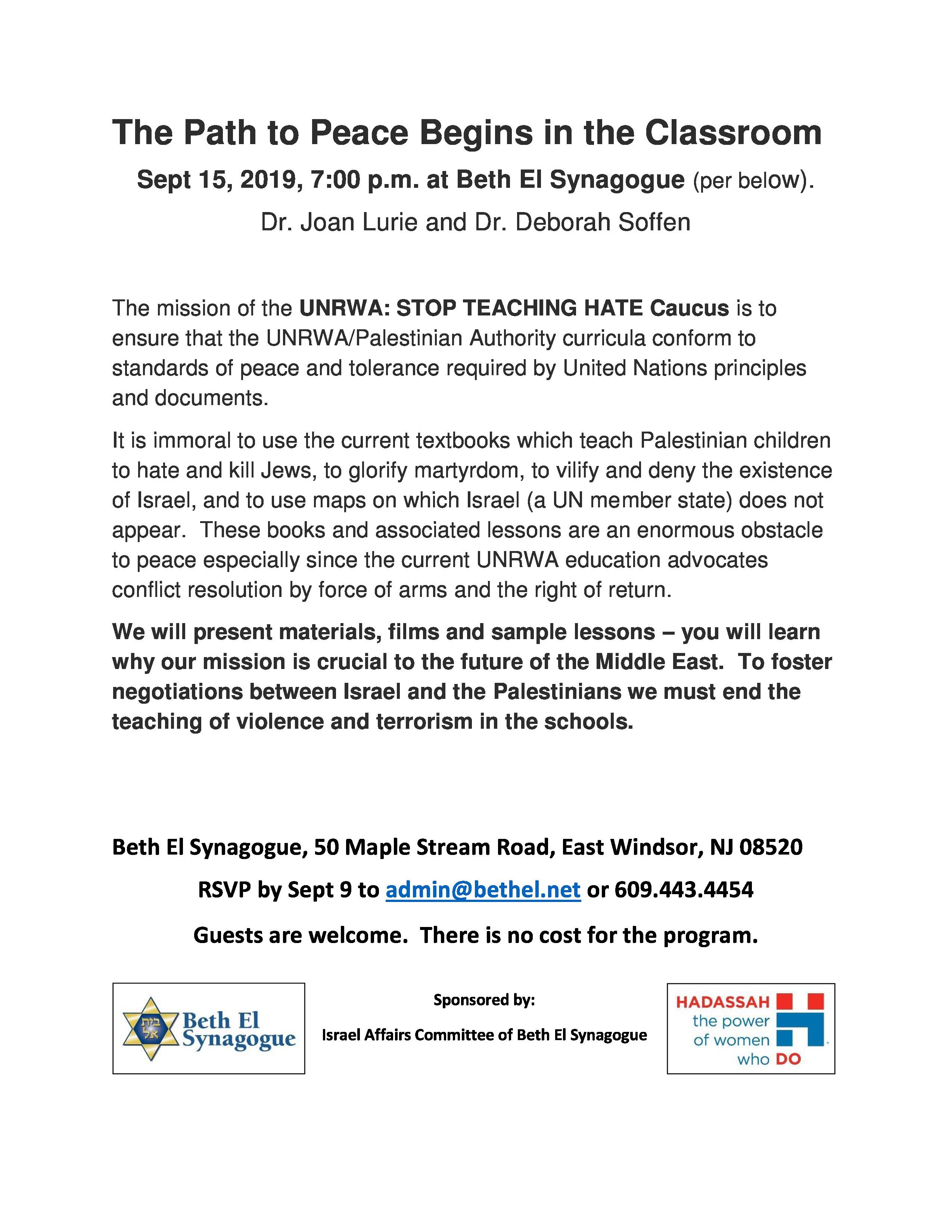 9.15.19-IAC.UNRWA-stop-teaching-hate-