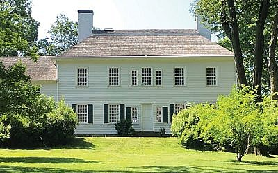 The Ford Mansion at Morristown National Park was built in 1773, and General George Washington established it as his headquarters in 1789-90.
