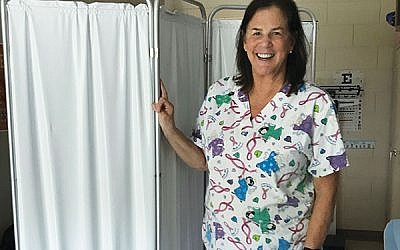 Helen Jacobson of Randolph is the only nurse for Team USA in this summer's Maccabi Games in Budapest, Hungary. Photo courtesy Helen Jacobson