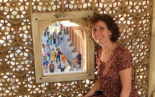 Rahel Musleah, who is of Indian-Jewish background, leads Jewish heritage tours of India. Courtesy of Rahel Musleah