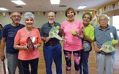 Springpoint Senior Living's pickleball team. Courtesy of Springpoint