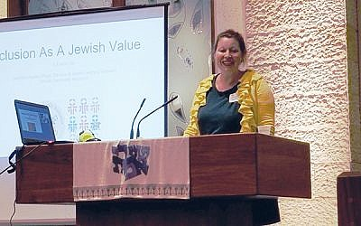 More than 100 educators attended the conference hosted by Jewish Federation in the Heart of New Jersey. Photo courtesy federation
