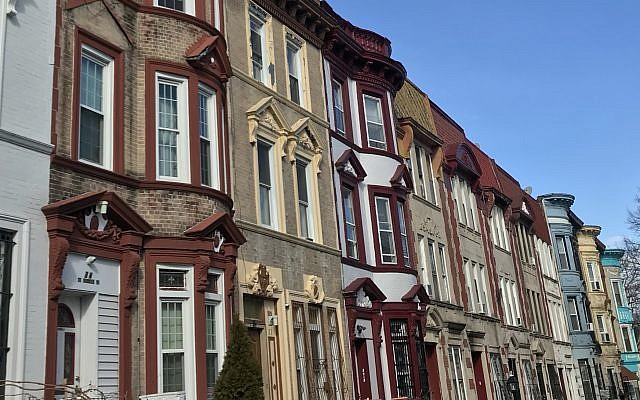 A row of historic brownstones in Crown Heights, Brooklyn. Courtesy of Miriam Groner/JW
