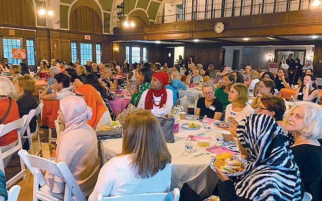 Over 200 women attended the Multicultural High Tea held at the Woodland in Maplewood on Sept. 15. Photos by Johanna Ginsberg