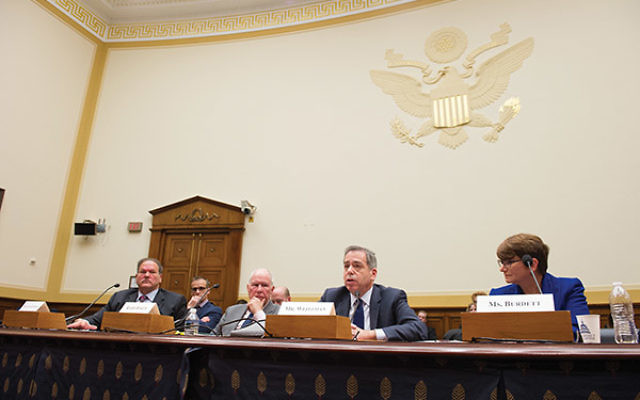 Witnesses testified on anti-Semitism at a March 22 House Foreign Affairs Subcommittee hearing. Photos courtesy House Foreign Affairs Committee
