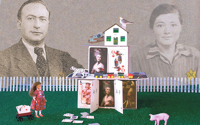 """Life Is Like a House of Cards from Aliza Augustine's """"Is It Safe?"""" series"""