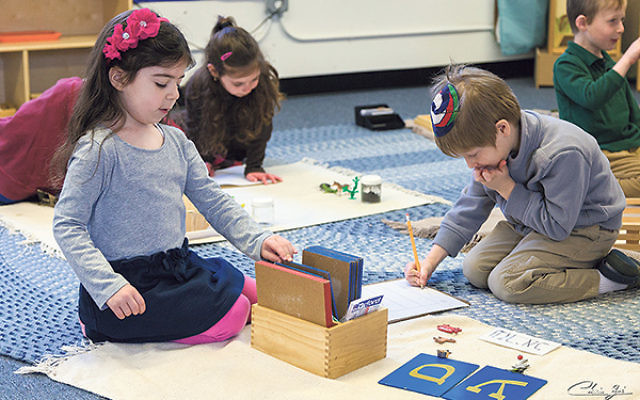 Yeshivat Netivot Montessori in East Brunswick has grown from seven students when it opened in 2000 to 125 today.