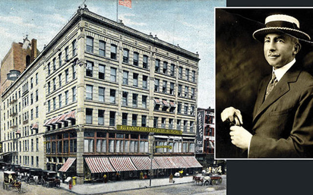 Bamberger's in Newark and its founder, philanthropist Louis Bamberger
