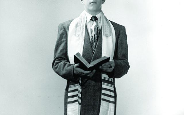 Noah Chivian at his first bar mitzvah on Dec. 27, 1947. Photos courtesy Noah Chivian