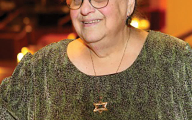 """Jacqueline Bodin will receive the Lifetime Achievement Award at Better Beginnings Child Development Center's annual Mayor's """"Shining Star"""" Gala on May 20. Photo courtesy Jewish Family & Children's Services of Greater Merc"""