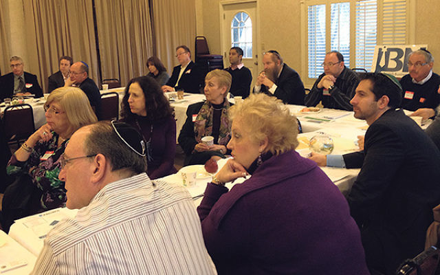 Large turnouts are common at monthly meetings of the Jewish Business Network of Monmouth County.