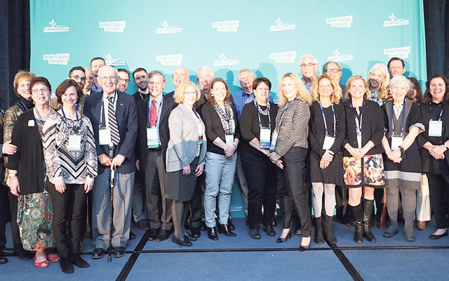 Camp leaders, organizations, and founders who made significant contributions to the field of Jewish camp were honored at a March 6 dinner at the assembly.