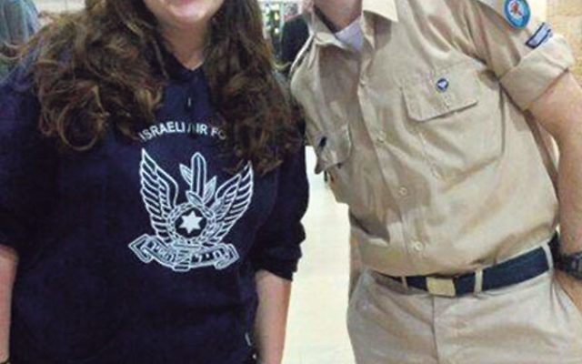 Rachel Card, a Catholic-born Yeshiva University student, met IDF soldiers, including Itay Matan, on a Birthright trip to Israel this summer.