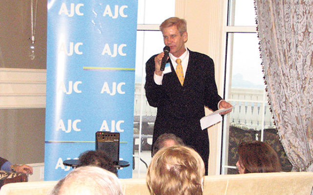 "Addressing the annual meeting of the American Jewish Committee, Metro NJ Region, Patrick Clawson said the negotiations have made Iran's nuclear program ""legitimate."""