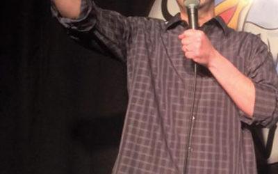 Comedian Alex Bernstein in the spotlight at Scotty's Comedy Cove in Springfield.