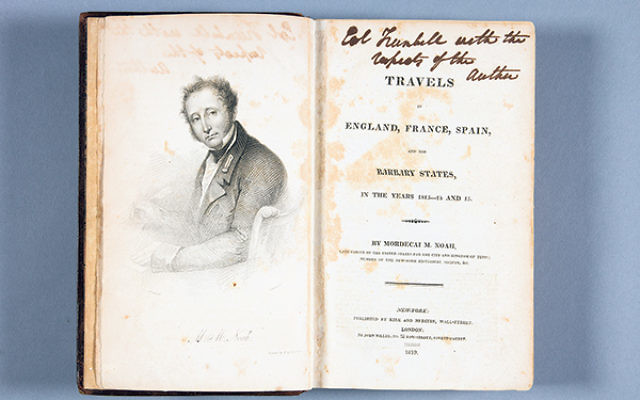 Mordecai Manuel Noah, Travels in England, France, Spain, and the Barbary States, in the years 1813-14 and 15, 1819.
