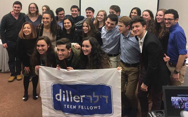 Diller Teen Fellows of cohort nine celebrate their graduation.
