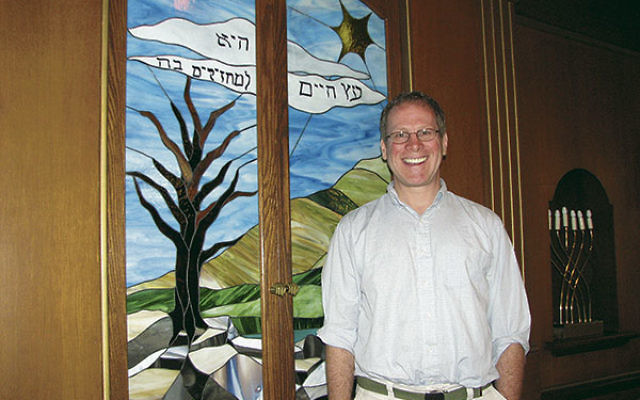 Rabbi Dr. Andy Dubin said he hopes to bring authentic searching to his rabbinate at the Jewish Center of Northwest NJ.