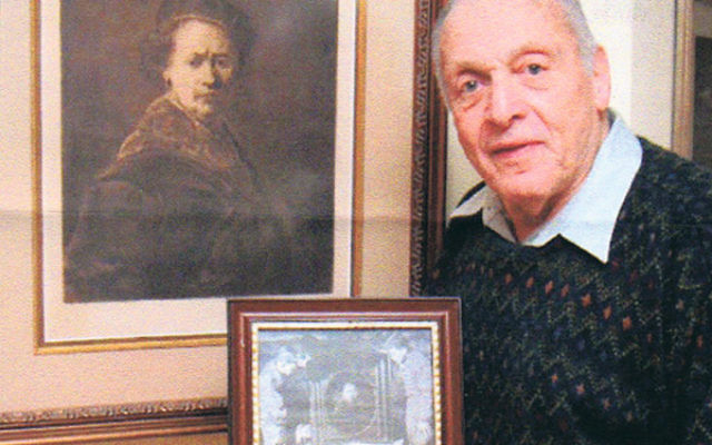 """Monuments Man Harry Ettlinger will speak on """"Lost Lives, Lost Art."""""""