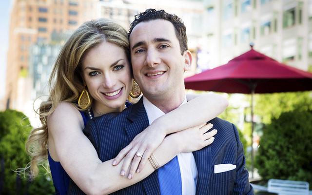 Samantha Feingold and Jonathan Criss
