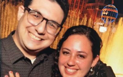 Ross Pollack and Marissa Feiwus