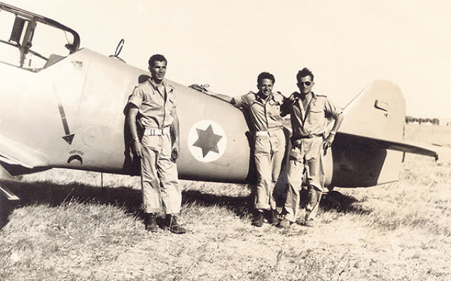 A still from the documentary about War of Independence pilots, Above and Beyond, the final film of the 15th NJJFF, showing on Sunday, March 29.