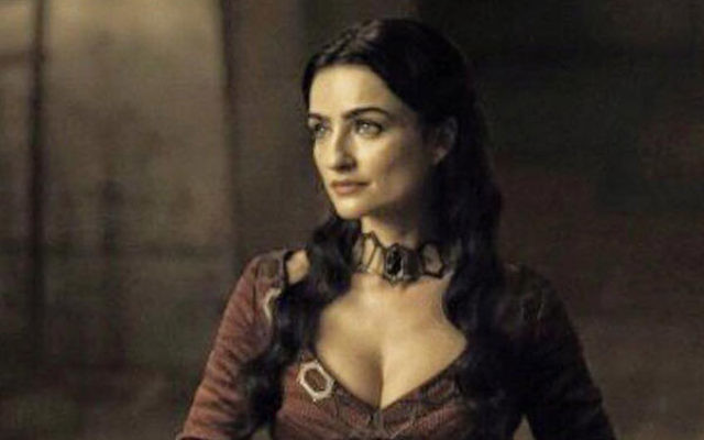 """Ania Bukstein in """"Game of Thrones"""" (Ania Bukstein's Facebook page)"""