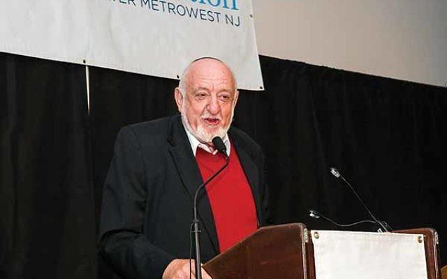 Featured speaker Avraham Infeld. Photos by David Hollander
