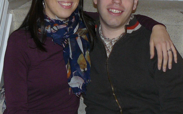 Michelle Whitescarver and Jason Golieb