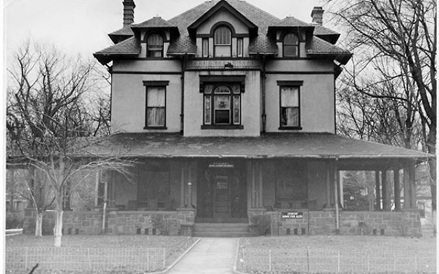 The original Greenwood House, on Greenwood Avenue in Trenton, 1939.