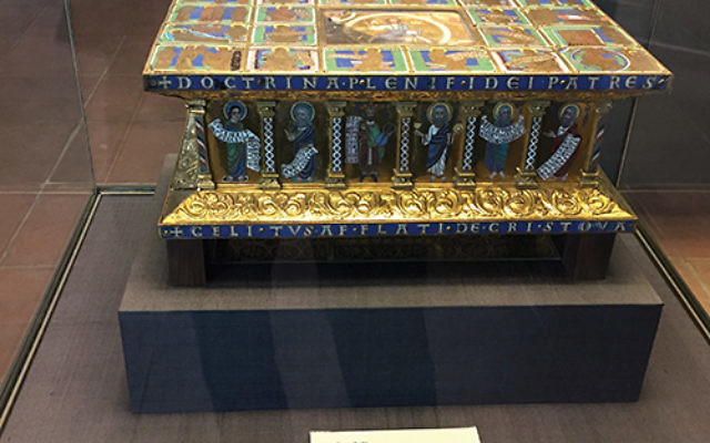 This portable altar is part of the Guelph Treasure, a collection at the center of the latest legal dispute over artwork that was separated from its Jewish owners during the Holocaust. Photos Courtesy Nicholas M. O'Donnell